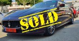 Maserati Ghibli 2015 Automatic [SOLD]