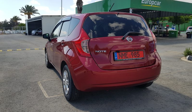 NISSAN NOTE 1.2 AUTOMATIC 2016 full