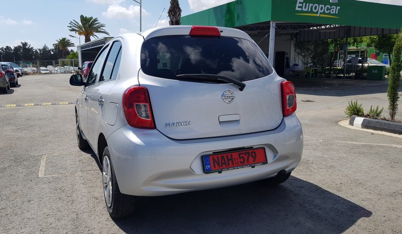 NISSAN MARCH AUTOMATIC 2015 full